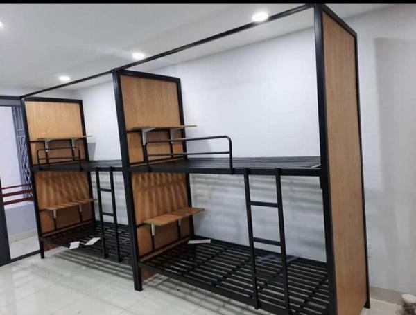 Giường sắt 2 tầng đa sắc
